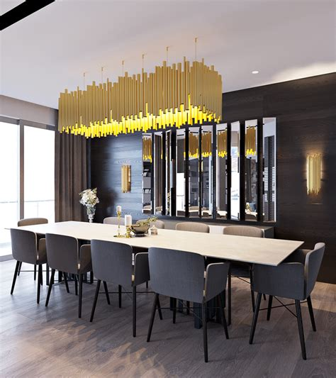 modern formal dining room interior design ideas