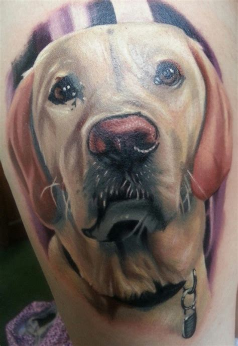 the 19 coolest labrador tattoo designs in the world
