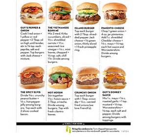 burger toppings food