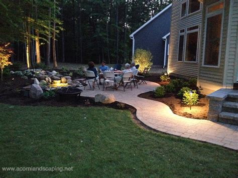 landscaping rochester ny led landscape lighting designer installer service county rochester ny traditional