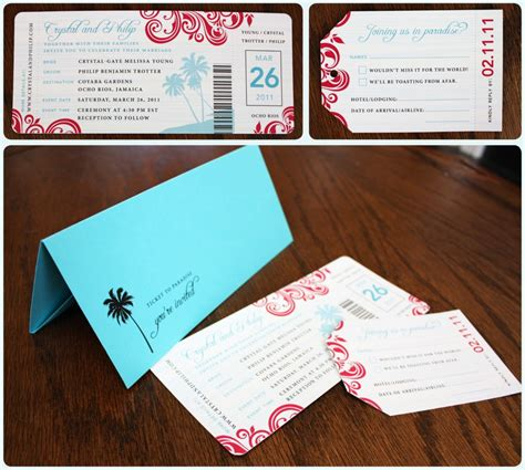 wonderful boarding pass wedding invitations theruntime