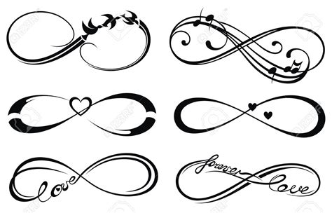 infinity tattoo vector infinity love forever symbol tattoo ideas pinterest