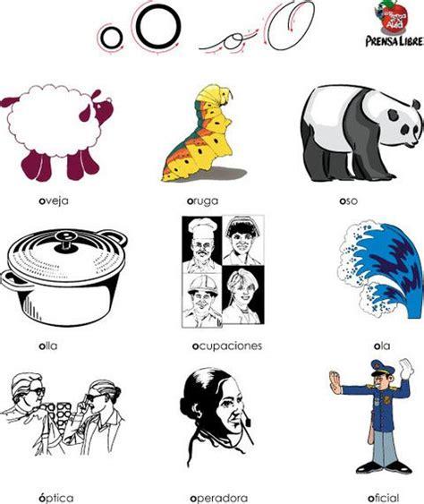 imagenes que empiecen con la letra o a color letra o vocal palabras que empiezan por o vocal o