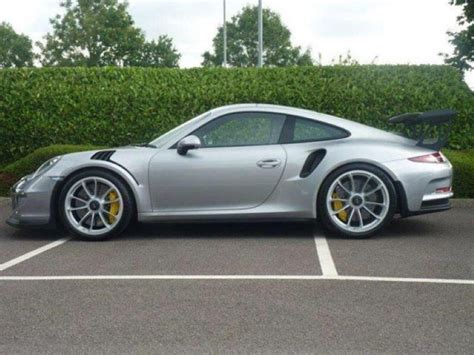 silver porsche silver porsche 991 gt3 rs listed for 450 000 dpccars