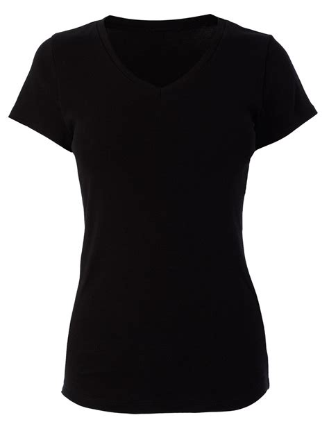 black shirts for black plain v neck tops