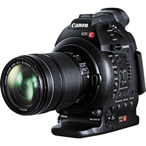 Canon Eos C100 canon eos c100 cinema eos with dual pixel cmos 7428b006
