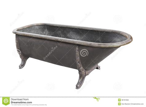 old metal bathtubs old metal bathtub isolated stock photography image