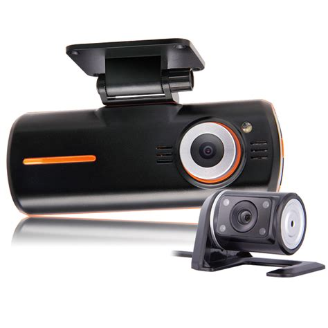 dual dash dual lens camcorder car dvr hd 1080p dash black