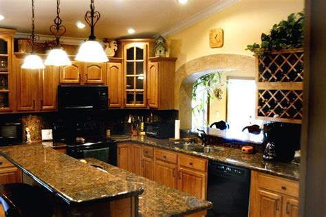 countertop colors for light oak cabinets honey oak cabinets kitchen pinterest honey oak