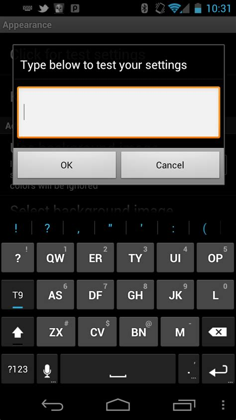 t9 keyboards for android when it comes to customizations nobody does it better than keyboard for android