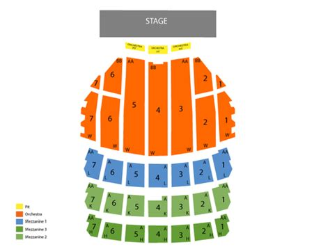 radio city seating map viptix radio city tickets