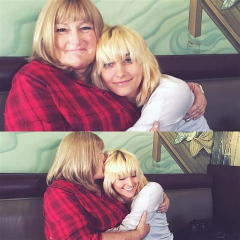 paris jackson mother paris jackson as she supports her mother debbie rowe