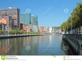 Water View House Plans river nervion bilbao spain stock photo image 61703928