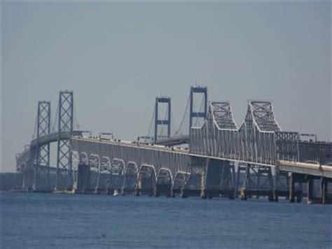boat shipping maryland bridgehunter chesapeake bay bridge