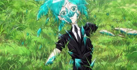 land of the lustrous 1 new land of lustrous anime promo reveals studded solid
