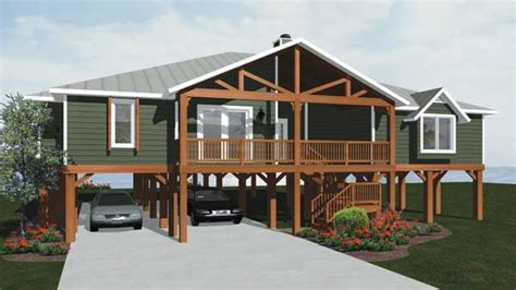 House Plans On Piers by House Plans On Piers Raised House Plans Pier