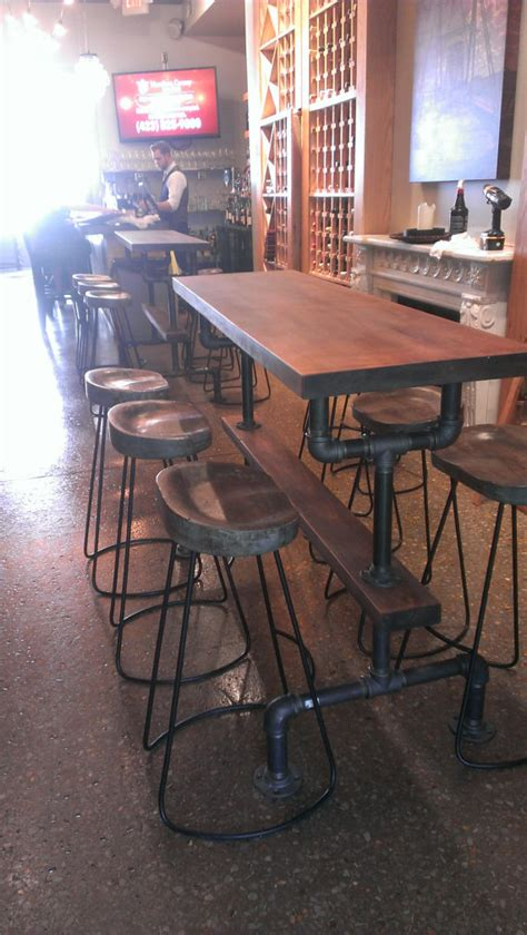 kitchen bar table ideas industrial farmhouse bar height kitchen table the