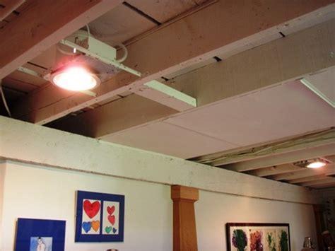 Diy Basement Ceiling Ideas Basement Ceiling Ideas And Diy Steps For Refinishing Concrete Floors Home Re Do