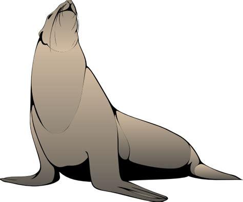 clipart seal seal clip at clker vector clip