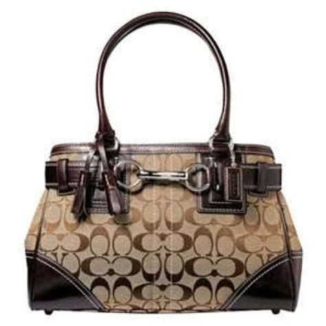 couch hand bag how to tell an imitation coach handbag from a genuine one
