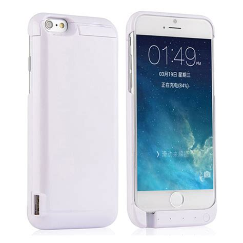 Cover360 Iphone 6 6s 6g 4 7inci Free Tempered battery cell phone charge cover coque fundas for apple iphone 6 6s plus 4 7 5 5 inth 6g