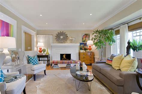 living room magenta citron tamara mack design