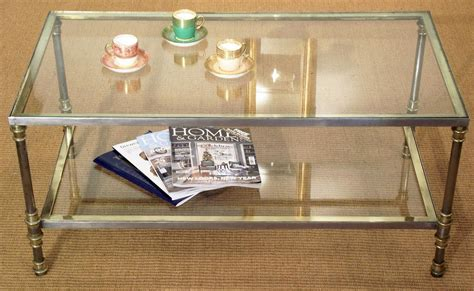 Antique Glass Table Vintage Glass Coffee Table Coffee Table Design Ideas