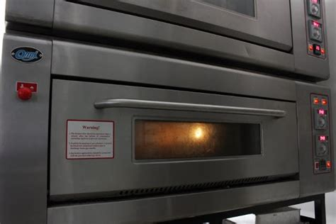 Oven Qmax bakerpinter mengenal bagian oven deck automatic