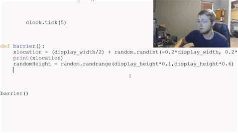 python tutorial the new boston pygame python game development tutorial 61 barrier