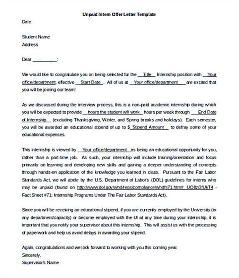 Informal Offer Letter Sle 100 Informal Offer Letter Sle Ideas Official Offer