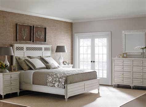 stanley furniture cypress grove cottage style king wood