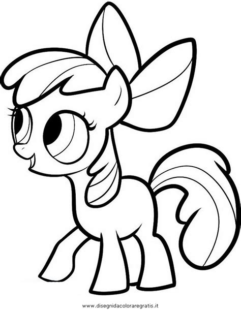 my little pony apple bloom coloring pages www imgkid com