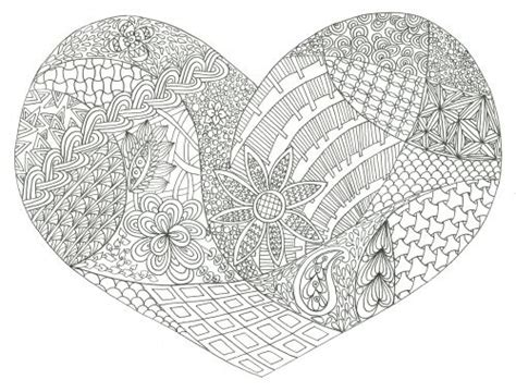 intricate valentine coloring pages 46 best doodles coloring pages images on pinterest