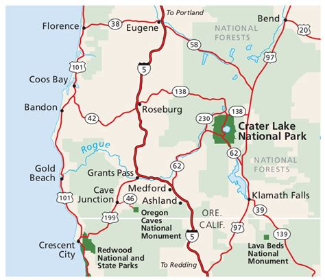 map crater lake oregon crater lake maps npmaps just free maps period