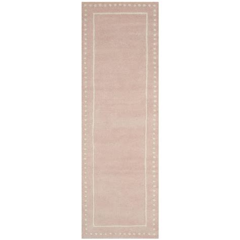 light pink runner rug safavieh bella light pink ivory 2 ft 3 in x 7 ft runner