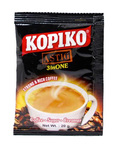 Kopiko Coffee Brown Coffee 30sc X 20gr kopiko astig 3inone 200gr mis distributors