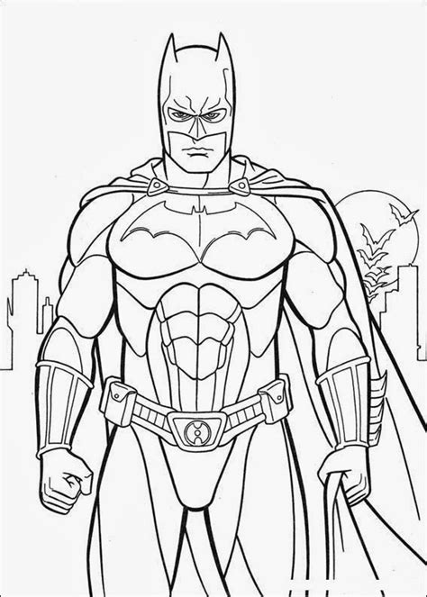 Batman Coloring Pages Super Coloring Book Printable Batman Coloring Pages