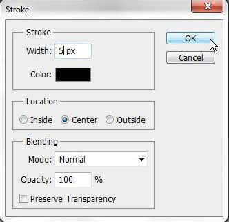 Black Outline Text Photoshop Cs5 by How To Outline A Selection In Photoshop Cs5 Solve Your Tech