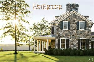 big farmhouse perfectly put together exterior interior federal style