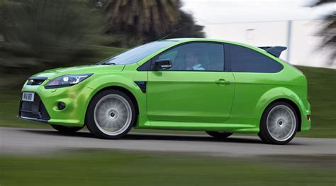 ford focus rs  car test review car magazine