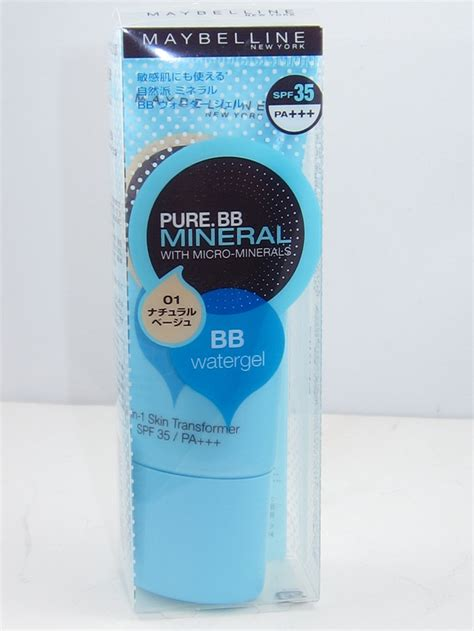 Maybelline Mineral Bb maybelline bb mineral watergel review swatches musings of a muse