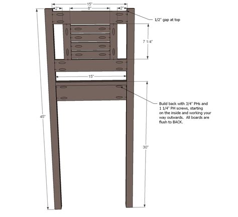 woodwork bar stool woodworking plans  plans