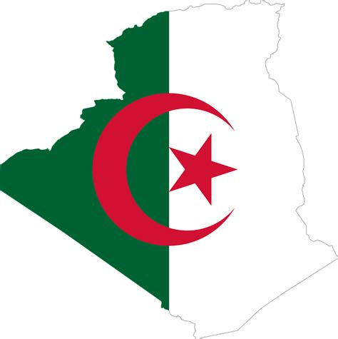 algeria country flag free vector graphic algeria arab borders country
