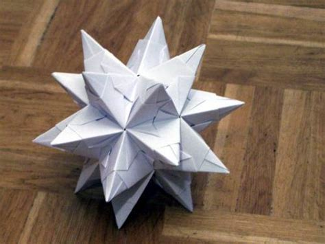 origami instructions 3d star 3d origami star tutorial on page 2 paper crafts