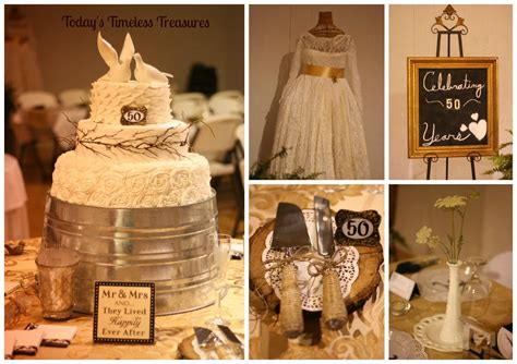 50th anniversary party ideas on a budget gallery of 50th today s timeless treasures 50th wedding anniversary party