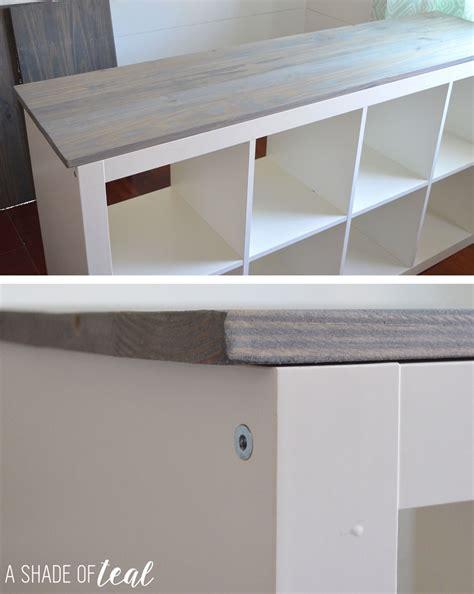 ikea cube shelf how to add wood to a ikea expedit cube shelf