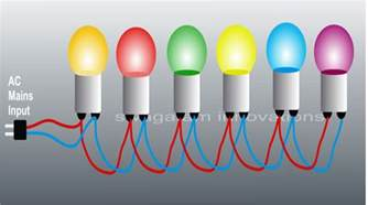 Wire String Lights Make 230 Volts Bulb String Light Circuits For Diwali And