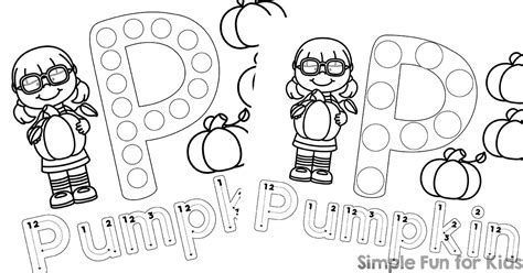 dot marker coloring sheets coloring pages