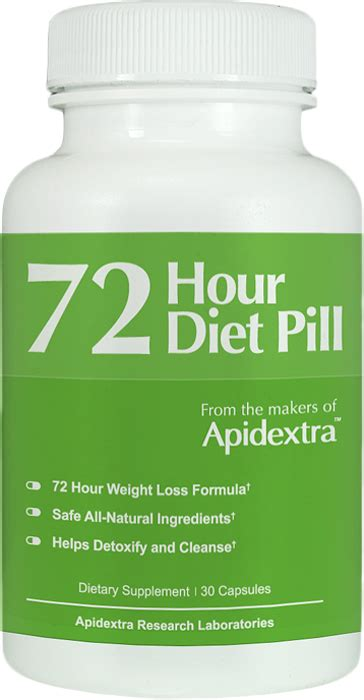 72 Hour Detox Pill by Apidextra 72 Hour Diet Pill 69 Free S H