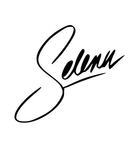 signature tattoo font generator image gallery selena name